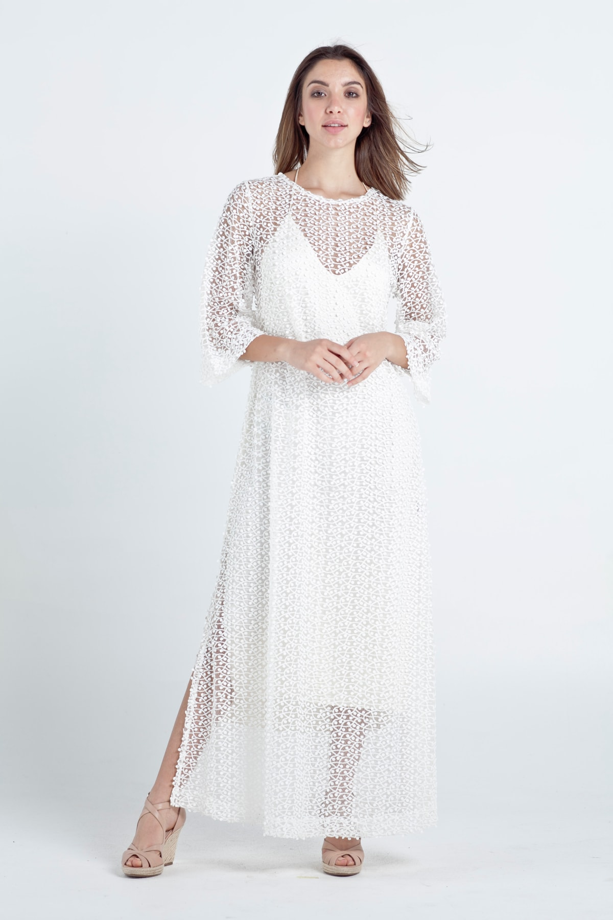 VERO Cover-up Lace Dress   Micheletti Collections